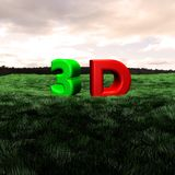 3d Scape Royalty Free Stock Photography
