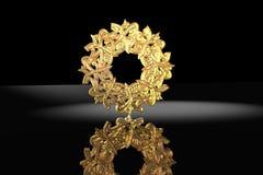 3D Scene Islamic Prayer-Symbol Royalty Free Stock Photo