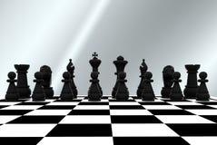 3D schaak - Stock Afbeeldingen