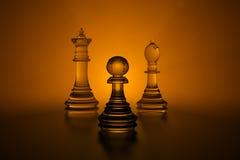3d schaak royalty-vrije illustratie
