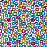 3d seamless pattern. Royalty Free Stock Image