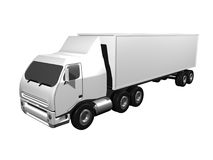 3D semi-truck Royalty Free Stock Photos
