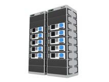 3d servers stock illustration