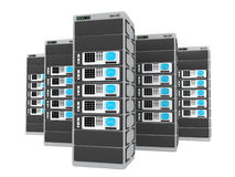 3d servers Royalty-vrije Stock Afbeelding