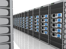 3D Servers Stock Images