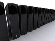 3d servers Royalty Free Stock Photography