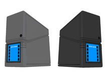 3D Servers ND. #2 Royalty Free Stock Image