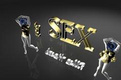 3D Sex Stock Image