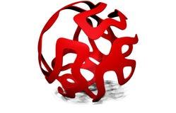 3D sfera Zdjęcie Stock