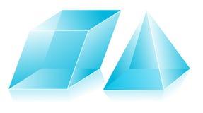 3D shape stock illustration