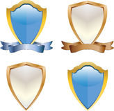 3d Shields Stock Photos