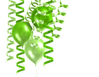 3d shiny ballons Royalty Free Stock Photos