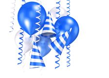 3d shiny ballons Royalty Free Stock Photo