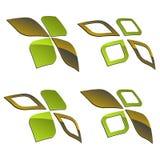 3d shiny elements Stock Photos