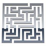 3d shiny maze Royalty Free Stock Photos