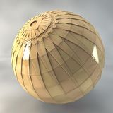 3d shiny sphere Stock Photography