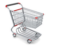 3d Shopping cart icon - high detailed Stock Image