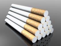 3d sigaret Royalty-vrije Stock Fotografie