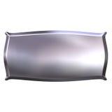 3D Silver Banner Royalty Free Stock Photos