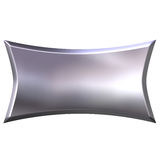 3D Silver Banner Royalty Free Stock Images