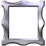 3D Silver Frame Stock Photos