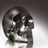 3D skull Royalty Free Stock Photo