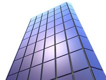 3d skyscraper Stock Photos
