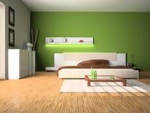3D slaapkamer vector illustratie