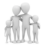 3d small people - family. Stock Image