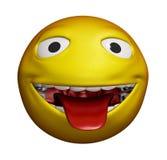 3D Smiley Stock Photo