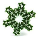 3D sneeuwvlok Stock Fotografie