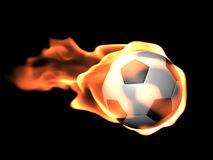 3D Soccer Ball Royalty Free Stock Photo