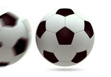 3D soccer ball stock photography