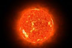 3d słońce Zdjęcie Royalty Free