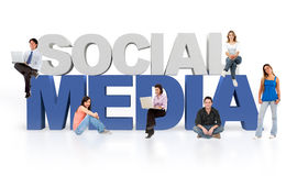 3D Social media Stock Photos