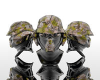 3d soldiers Stock Images