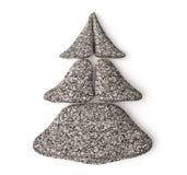 3d spa christmas tree. 3d chrismas tree made of granite spa stones Stock Photography