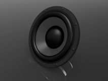 3d speaker Royalty Free Stock Photo