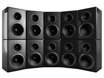3d speaker Royalty Free Stock Photos