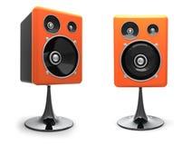 3D  speakers Stock Photos