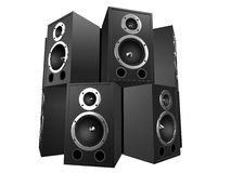 3d speakers Royalty Free Stock Images