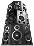 3d speakers Royalty Free Stock Image