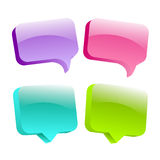 3d speech bubbles. Illustration vector illustration