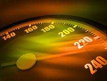 3D Speedometer Royalty Free Stock Photography