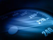 3D Speedometer Royalty Free Stock Photo