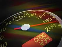 3D Speedometer Stock Photos