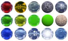 3d sphere. Extremely high resolution 3D sphere rendered at maximum quality Royalty Free Stock Photography
