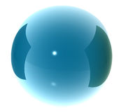 3D sphere ball Stock Images