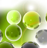 3D spheres Royalty Free Stock Photo