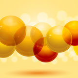 3d spheres Royalty Free Stock Image